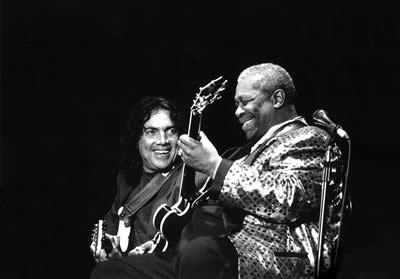 Pappo con BB King